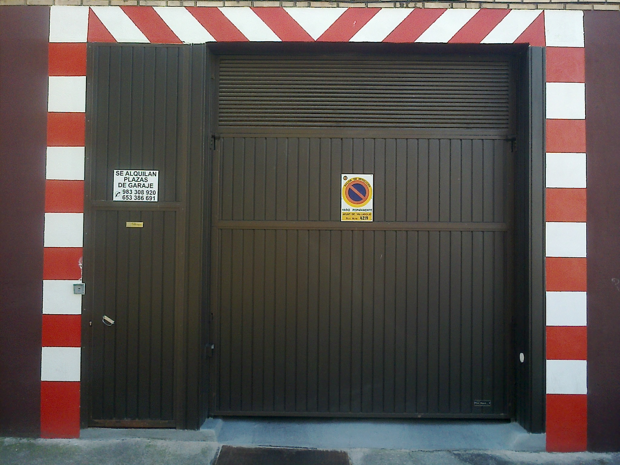 Doble Puerta De Entrada Amazing Doble Puerta Abatible De